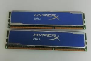 Оперативная память Kingston DDR3 16GB PC3-12800 (Комплект 2x8Гб) HyperX Blu