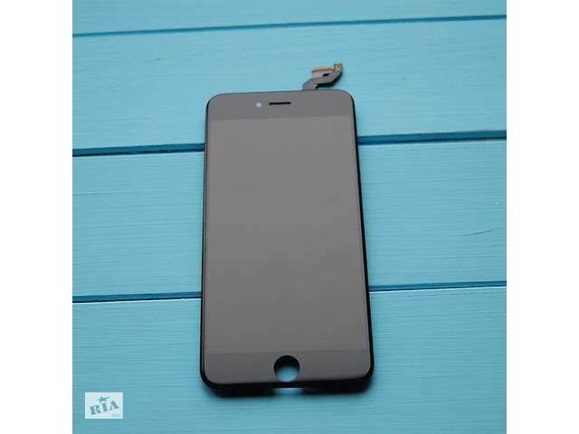 купить бу Оригинальный дисплейный модуль с переклеенным стеклом Apple iPhone 6s Plus Black в Харькове