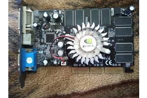 Отличная, оригинальная, красивая видеокарта nvidia fx5200 128MB/128bit