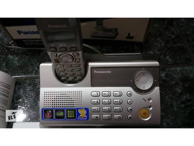 бу Panasonic KX-TCD236UA с аккумуляторами.коробкой .проводами.адаптером и инструкцией пользователя в Виннице