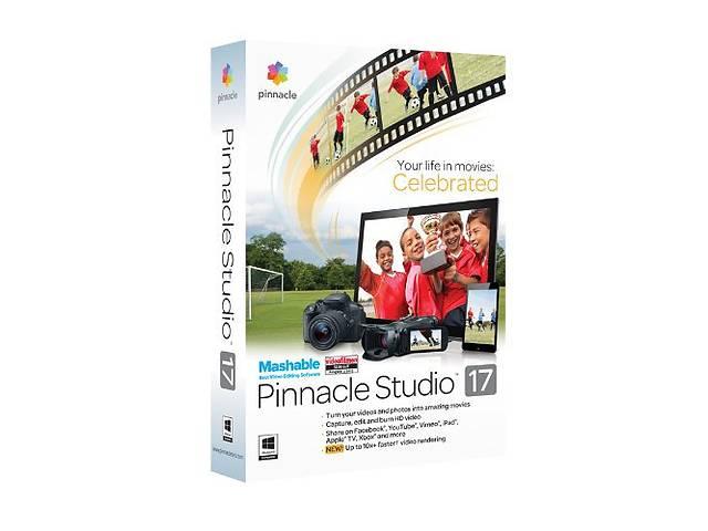 бу Pinnacle Studio 17 mashable лицензия в Николаеве