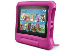 """Планшет Amazon Kindle Fire 7"""" 16Gb (9th Gen) Black with Pink Kid-Proof Case"""