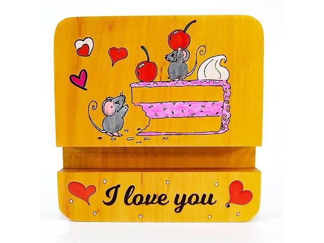 продам Подставка держатель для мобильного телефона смартфона планшета мышки на торте i love you Мастерская мистера Томаса 10... бу в Виннице
