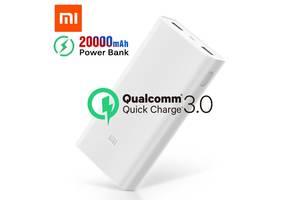 Портативная батарея Xiaomi Mi Power Bank 2C 20000mAh c быстрой зарядкой QC3.0 Оригинал. Повербанк, внешний аккумулятор