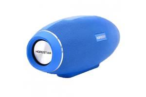 Портативна Bluetooth колонка Hopestar з трьома активними динаміками Синя