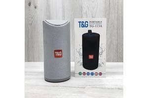 Портативна bluetooth колонка вологостійка T& amp; G TG-113A Wireless Speaker сірий
