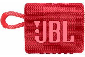 Портативная колонка JBL GO 3 Red (JBLGO3RED) (6627976)