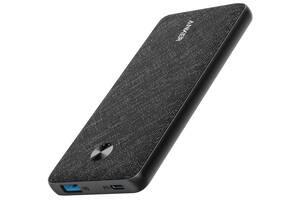 Портативное зарядное устройство Anker PowerCore Slim 10000 mAh PD Fabric Black (6601057)
