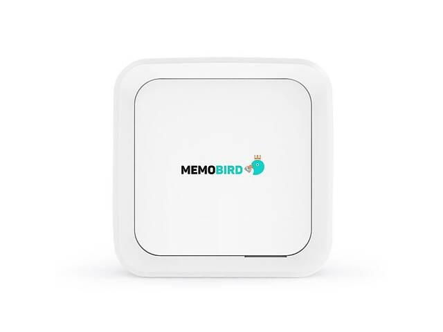 купить бу Портативный принтер для телефона MemoBird GT1 Белый (100058) в Киеве