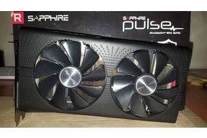 Продам видеокарту Sapphire RX 570 Pulse 4 Gb + ТЕСТ Видеокарты