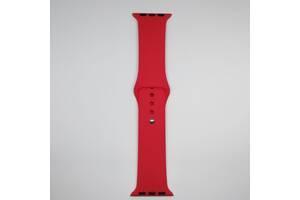 Ремешок Apple Watch 38mm M/L silicone Red