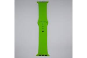 Ремешок Apple Watch 42mm M/L silicone Lime