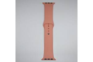 Ремешок Apple Watch 42mm M/L silicone Papaya