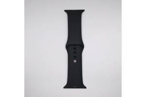 Ремешок Apple Watch 42mm S/M silicone Black