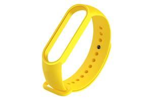 Ремешок для фитнес браслета Xiaomi Mi Band 5 Yellow