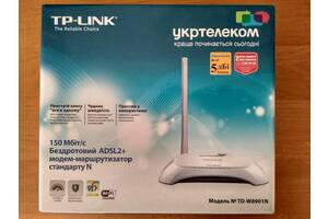 Роутер ADSL+ для Укртелеком: TP-Link TD-W8901N