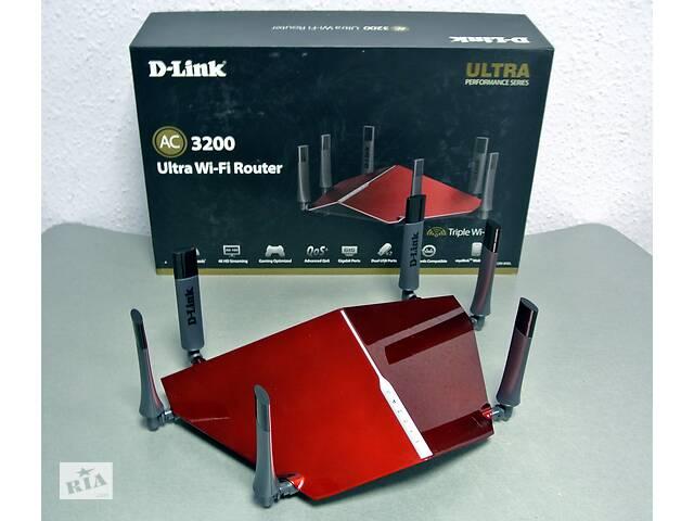 Роутер D-LINK DIR-890L AC3200 трехдиапазонный, высокоскоростной- объявление о продаже  в Киеве