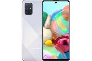 Samsung Galaxy A71 6/128GB Silver (SM-A715FZSUSEK) *(Царапина на корпусе телефона) (Код товара:11196)