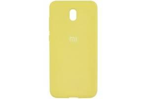 Silicone Case Xiaomi Redmi 8A Yellow (Код товара:10511)