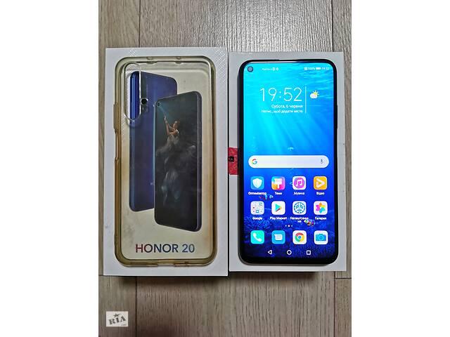 продам Смартфон Huawei Honor 20 6/128Gb (YAL-L21) Black DUAL SIM бу в Киеве