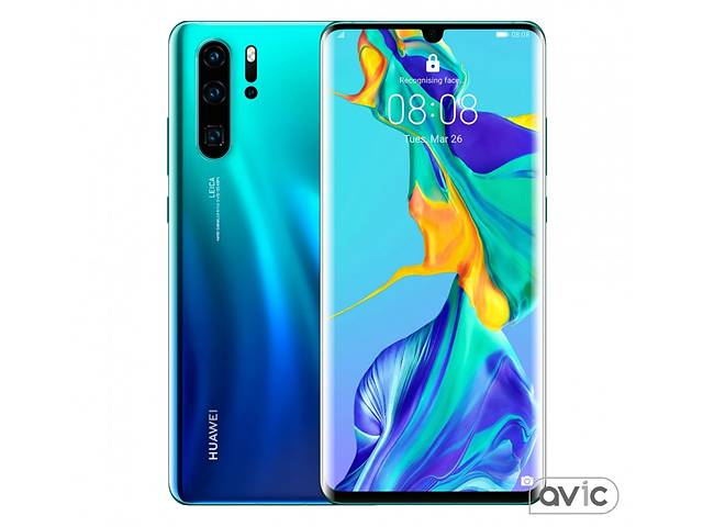 Смартфон Huawei P30 Pro 8/512GB Aurora