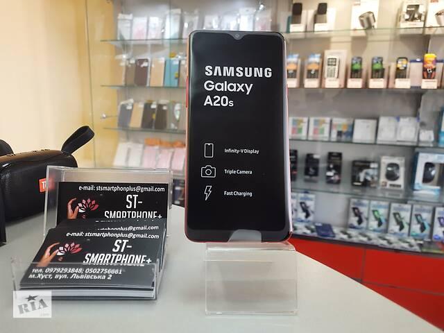 бу Смартфон Samsung Galaxy A20s 3/32GB Red в Хусте