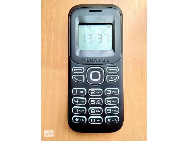 бу Сотовый телефон Alcatel OneTouch 132 черный, смартфон в Тернополе