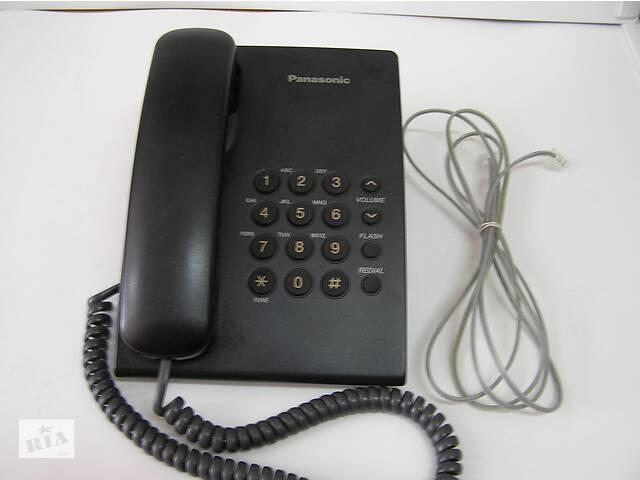 бу стационарный проводной телефон Panasonic KX-TS2350(черный) в Киеве
