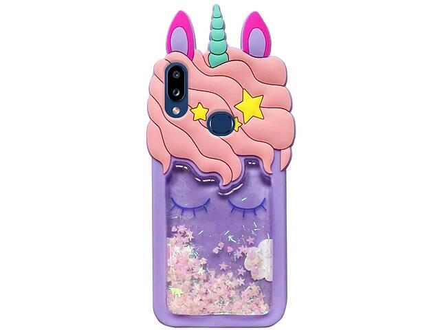 бу Силиконовый чехол Unicorn 3D для Samsung Galaxy A10s в Одессе