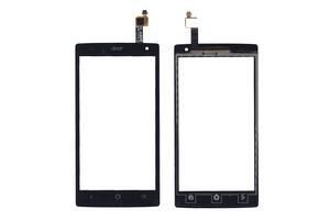 Тачскрин (Сенсорное стекло) для смартфона Acer Liquid Z5 Z150 черное