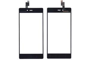 Тачскрин (Сенсорное стекло) для смартфона ZTE Z9 mini черный