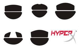 Тефлоновые Ножки HyperX Pulsefire Surge Core FPS Pro Raid Dart