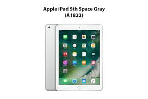 "(ТОЛЬКО ПРЕДОПЛАТА) Apple iPad 5th Space Gray (A1822) / 9.7"" (2048x1536) Retina IPS / Apple A9 (2 ядра по 1.8 GHz) /..."