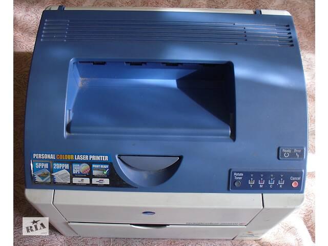 Цветной лазерный принтер Minolta MC2400- объявление о продаже  в Андрушевке