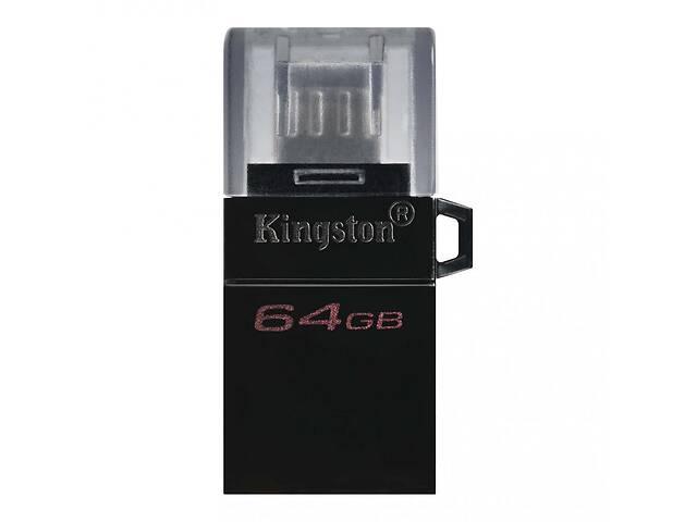 бу USB флеш накопитель Kingston 64GB microDuo USB 3.2/microUSB (DTDUO3G2/64GB) в Киеве