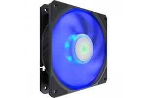 Вентилятор CoolerMaster SickleFlow 120 Blue LED (MFX-B2DN-18NPB-R1), 120х120х25 мм, 4pin, Single pack w/o Hub