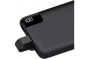 Зовнішній акумулятор Power Bank AWEI P67K 10000mA Black