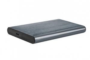 Внешний карман Gembird SATA HDD 2.5, USB 3.1, алюминий, Grey (EE2-U3S-6-GR)