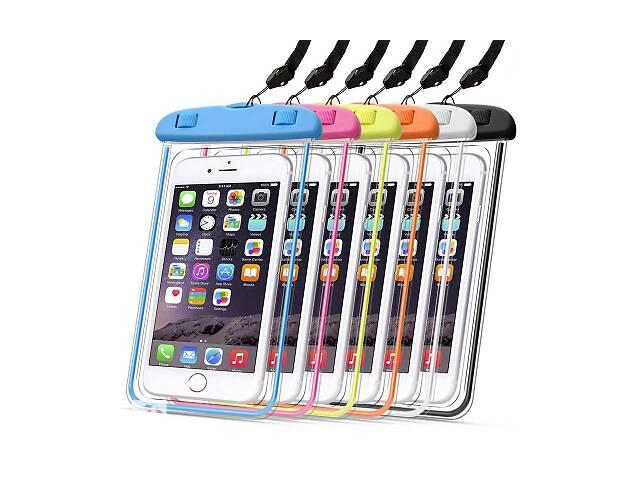 купить бу Водонепроницаемый чехол для телефона и документов Waterproof case, цвета в ассортименте SKL11-259259 в Одессе