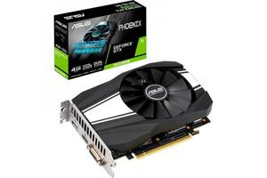 Видеокарта ASUS GeForce GTX1650 SUPER 4096Mb Phoenix (PH-GTX1650S-4G)
