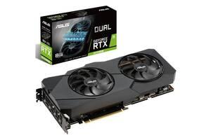 Видеокарта Asus GeForce RTX2070 SUPER 8GB GDDR6 DUAL EVO OC DUAL-RTX2070S-O8G-EVO