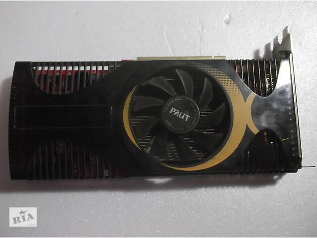 купить бу Видеокарта Palit GeForce GTS 250 green 512 мб DDR3  в Ольшанях