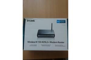 Wi-Fi роутер D-Link DSL-2600U