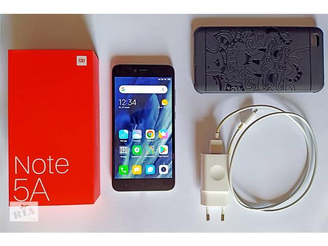 бу Xiaomi Redmi Note 5A | 2/16 GB | Dark grey | полный комплект в Мирнограде (Димитров)