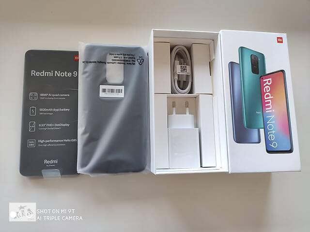 бу Xiaomi redmi note 9 3/64 NFC белый, серый в Луцке