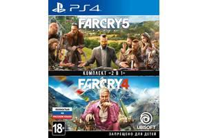 Гра Far Cry 4 + Far Cry 5 (PS4,Російськаверсія)
