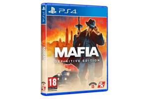 Игра SONY Mafia Definitive Edition [PS4, Blu-Ray диск] (5026555428224)