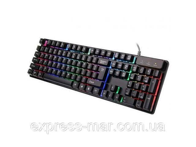 Игровая профессиональная клавиатура   usb проводная компьютерная клавиатура CNV KR 6300 с подсветкой- объявление о продаже  в Харькове