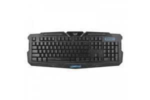 Игровая проводная русская клавиатура M200 с подсветкой USB SmartLife