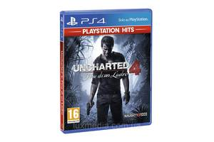 Игровой диск Uncharted 4: Путь вора для PS4 (русский язык)